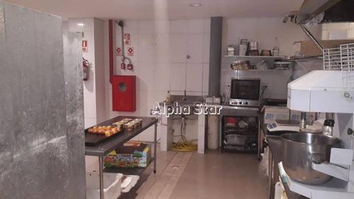 ponto comercial, padaria maravilhosa, porteira fechada, venda - parque rincão - cotia/sp - sl0007