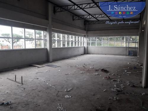 ponto comercial para locação em itaquaquecetuba, vila são carlos, 2 banheiros - 190524b