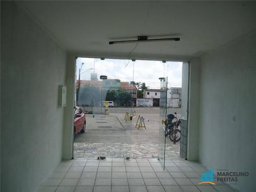 ponto comercial para locação, jacarecanga, fortaleza - pt0091. - pt0091