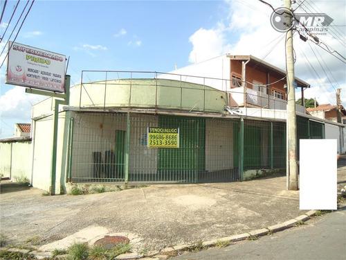 ponto  comercial para venda e locação, jardim santa eudóxia, campinas. - pt0002