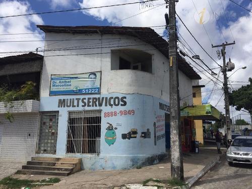 ponto comercial à venda, bairro dos ipês, joão pessoa. - pt0001