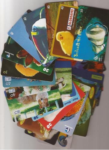 ponto do cartão lote com mil cartões