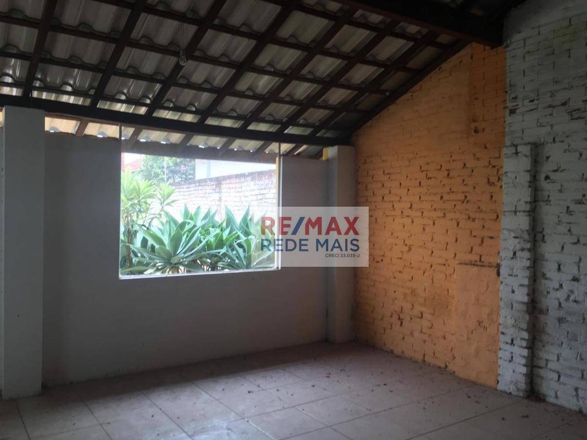 ponto para alugar, 250 m² por r$ 2.700,00/mês - centro - botucatu/sp - pt0013