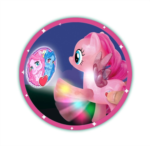 pony proyector the sweet pony luces sonido infantil cuotas