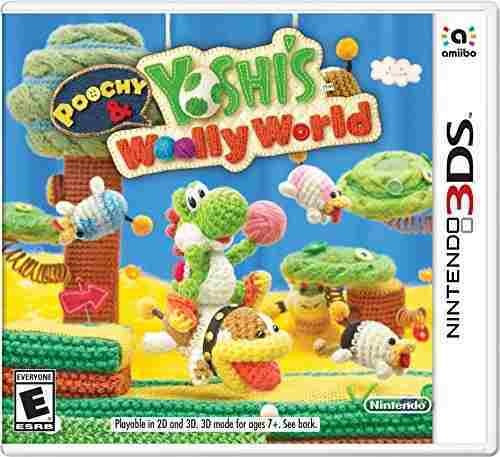 poochy & yoshi's woolly world - nintendo 3ds standard editio