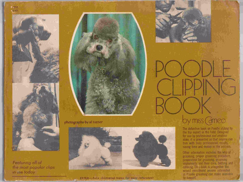 poodle clipping book guia de cortes para poodle , french