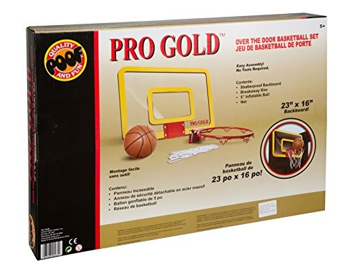 4290d36433a Poof Pro Gold Large Basketball Hoop - Nuevo -   2