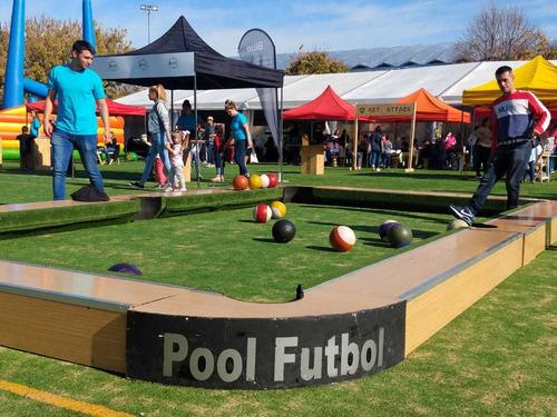 pool futbol alquiler