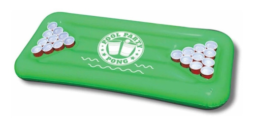 pool party pong, inflable para jugar pong en la alberca