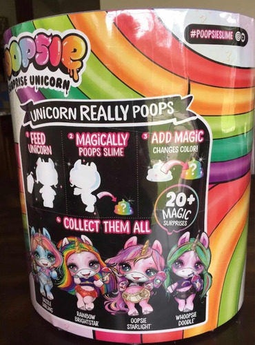 poopsie surprise unicornio slime full  llegaron !!!