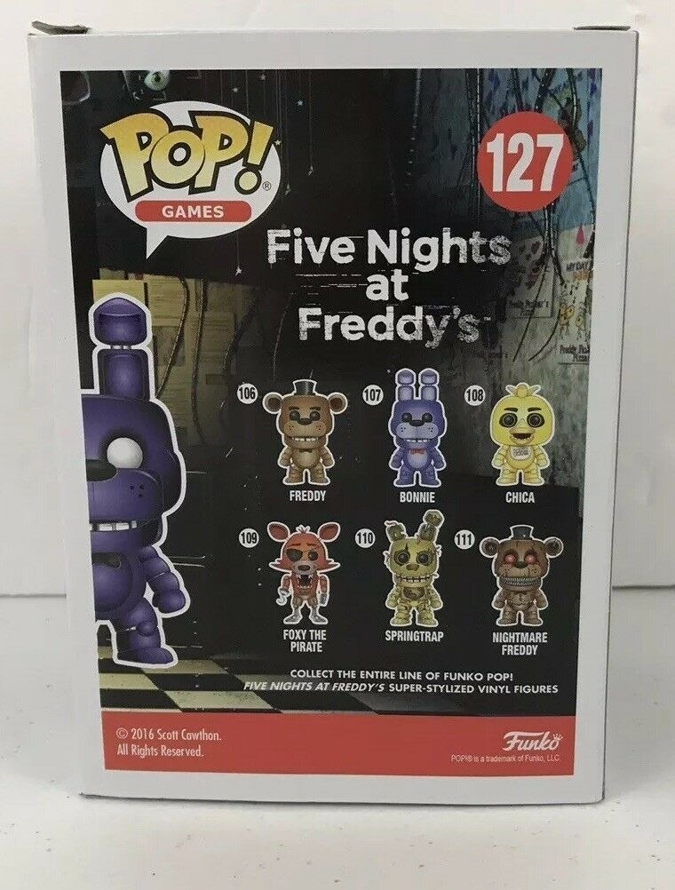 Funko target exclusive Five Nights at Freddys Shadow Bonnie