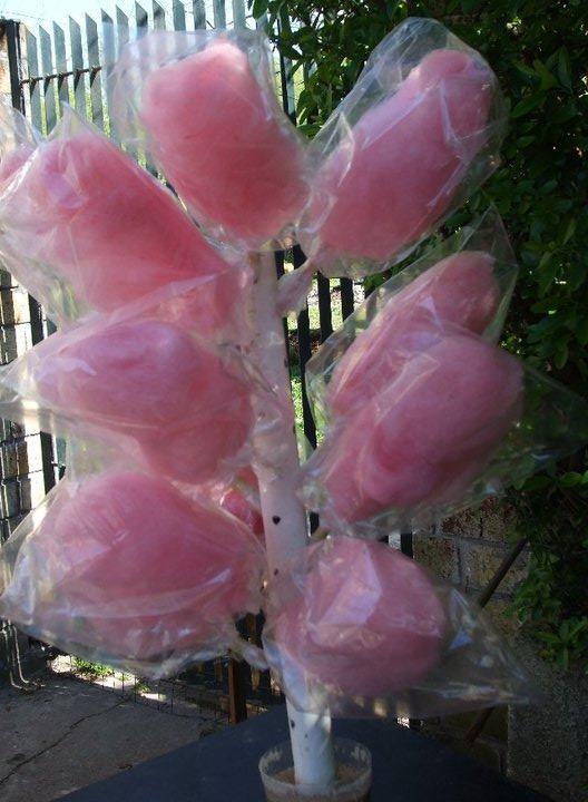 pop acaramelado  copos de algodon dulce  manzana
