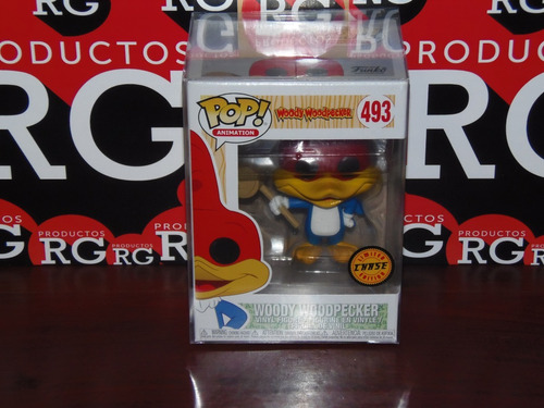 pop! animation - woody woodpecker - (chase)  *