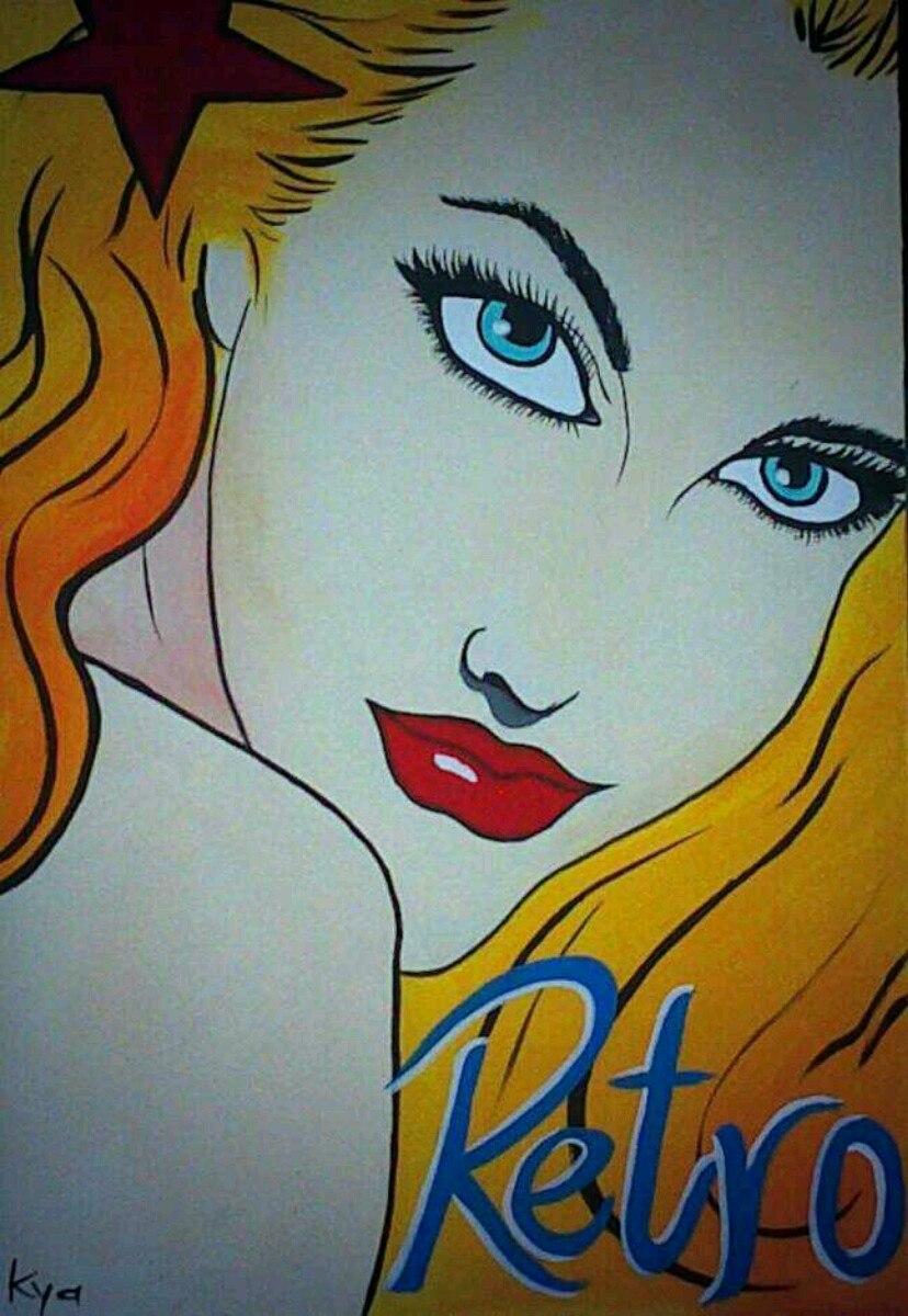 Pop art cuadros 1 en mercado libre - Cuadros pop art comic ...