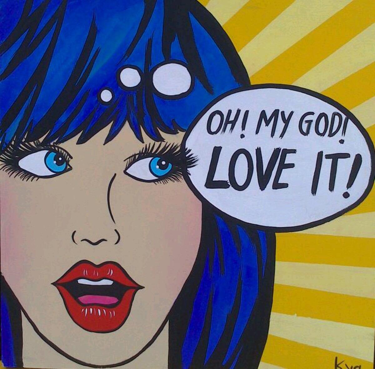 Pop art cuadros decorativos 1 en mercado libre - Cuadros pop art comic ...