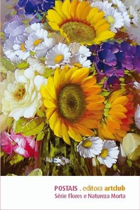 pop cards - flores & natureza morta vol. i