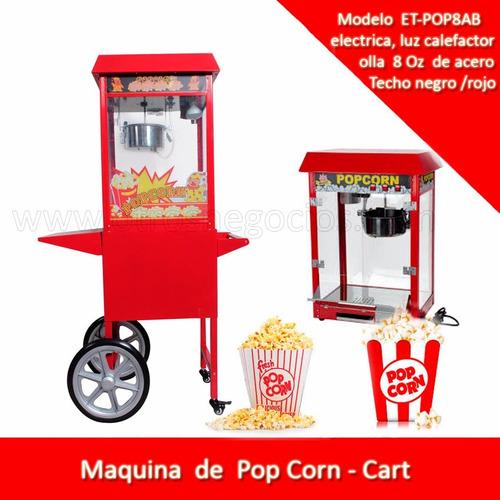 pop corn  - pop corera   maquina - canchita