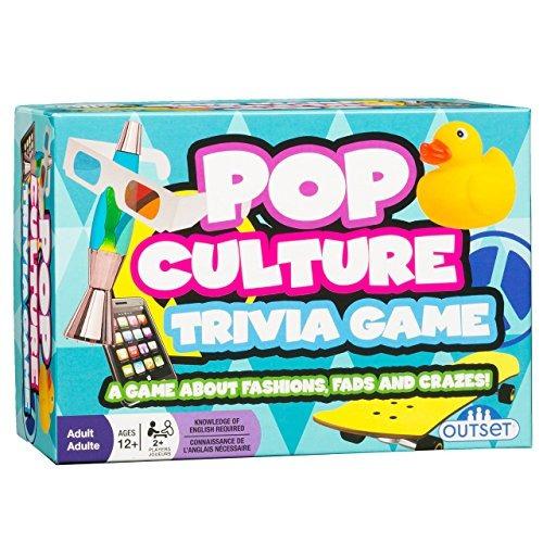 pop culture trivia - un juego sobre modas y modas de moda -