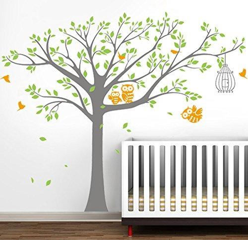 pop decors vinilo art pared decals mural cuarto niños árbol