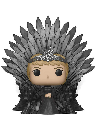 pop! deluxe game of thrones cersei lannister on iron throne