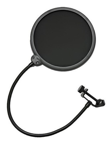 pop filter oem tela anti sopro e puf com haste flexível