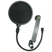 pop filter sanson ps01 tela anti puff/sopros p/ microfone