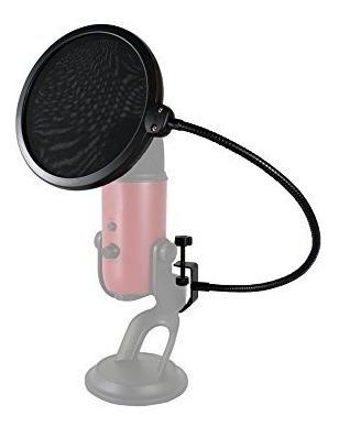 pop filter shield anti puff andaluz ps01 filtro microfone