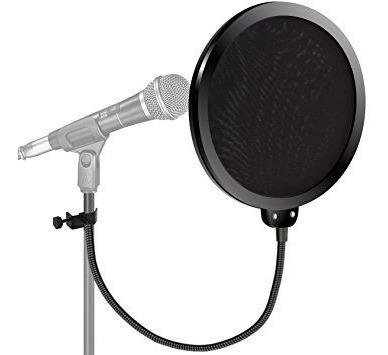 pop filter shield anti puff dreamer ps01 filtro microfone