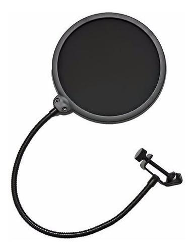 pop filter shield anti puff smart ps-1 filtro microfone