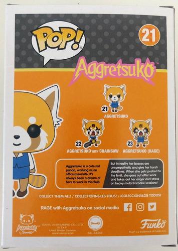 pop! funko 021 - aggretsuko