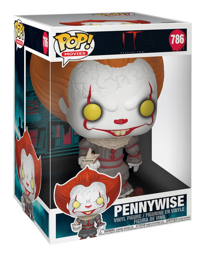 pop funko movie it chapter 1 - pennywise w/boat 10pol