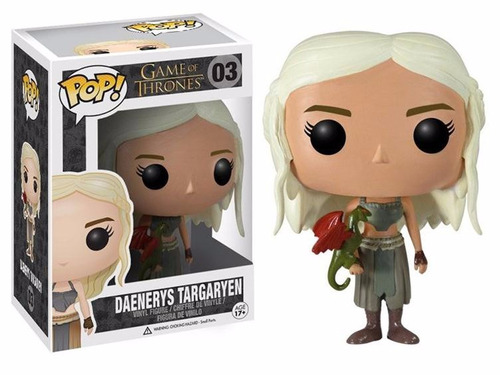 pop! game of thrones (vinyl): got daenerys targaryen funko
