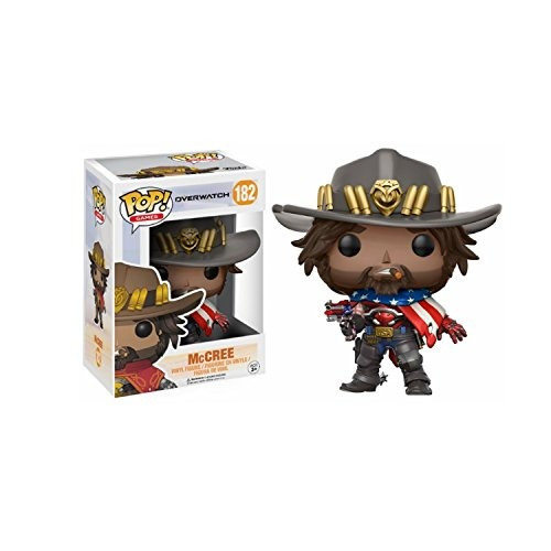 pop! games: overwatch usa mccree   buho store