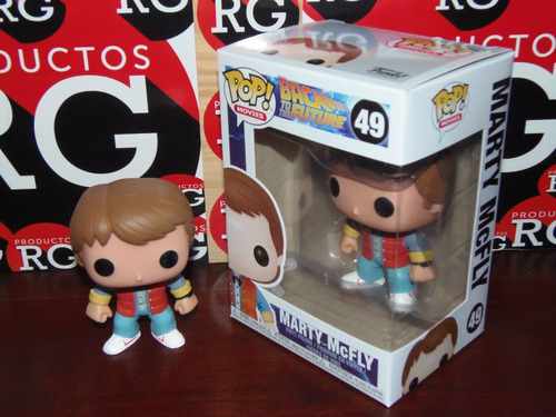 pop! movies - back to the future - marty mc fly (49)  *