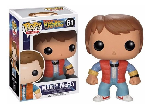 pop movies: back to the future volver al futuro marty mc fly