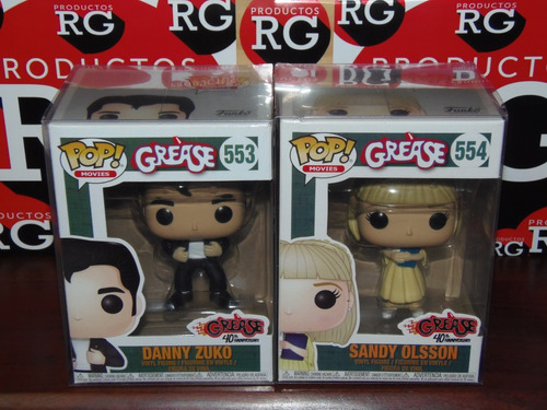 pop! movies -grease - 553 - 554 - 555 - 556 *