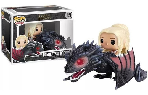 pop! rides: game of thrones drogon & targaryen