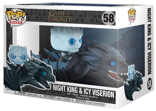 pop! rides: game of thrones - night king on dragon