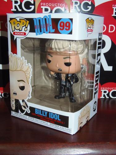pop! rocks - billy idol (99)  + caja protectora *