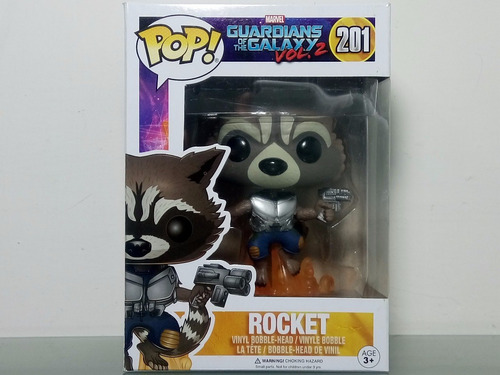 pop the guardians of galaxy rocket