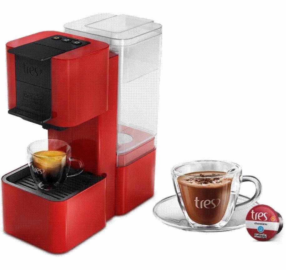 58b644407 pop três - máquina e cafeteira de café expresso 3 corações. Carregando zoom.