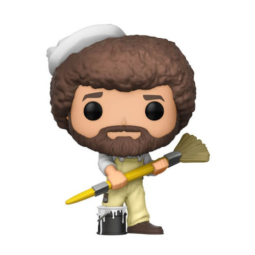 pop tv: bob ross - bob ross in overalls