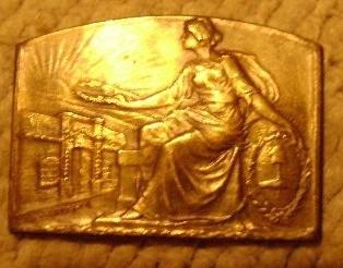 popei.- medalla del centenario de la independencia