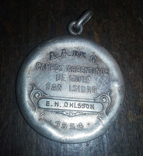 popei.- medalla del golf de san isidro