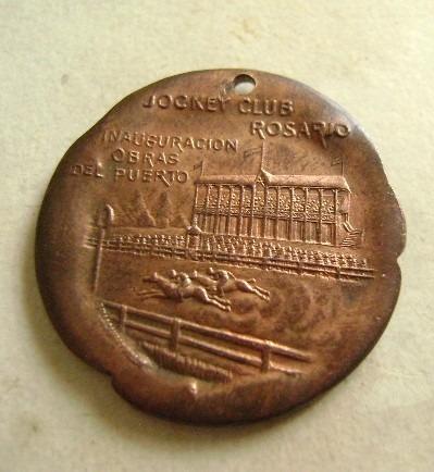 popei.- medalla jockey club de rosario 1902