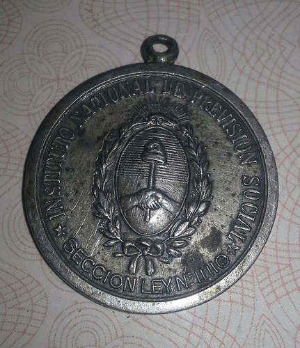 popei.- medalla previsión social de 1946 peronista