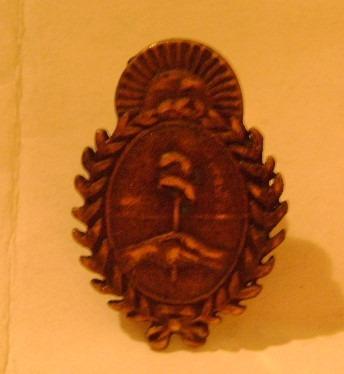 popei.- pin escudo argentino