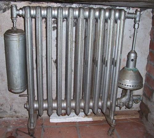 popei.- radiador de hierro fundido