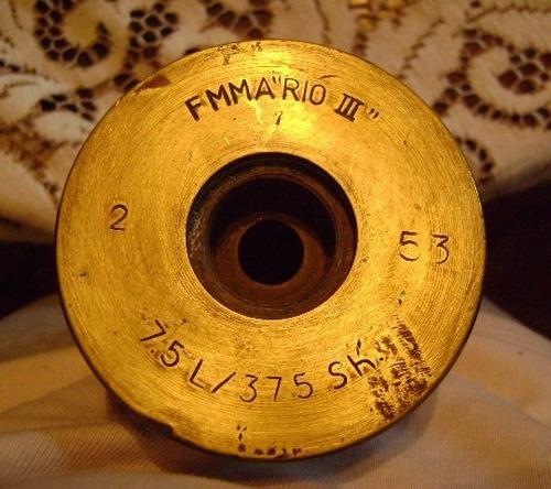 popei.- vaina de 75 mm del ejercito argentino