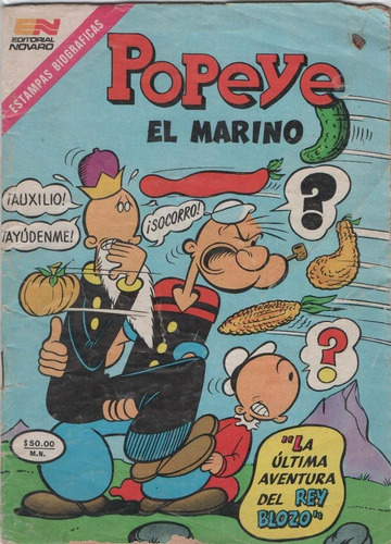popeye el marino novaro coleccion digital español
